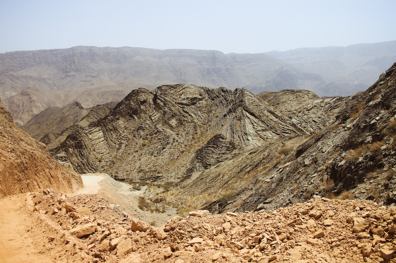 oman mountains desert