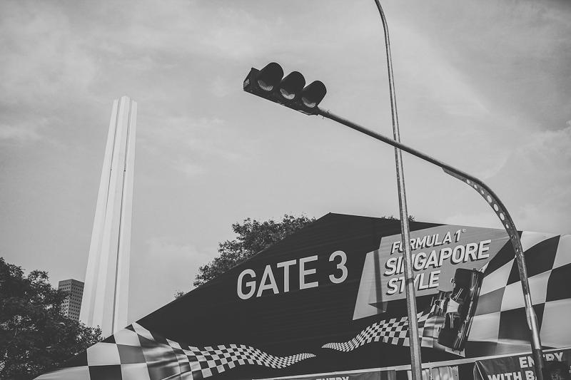 Gate 3 Singapore race f1