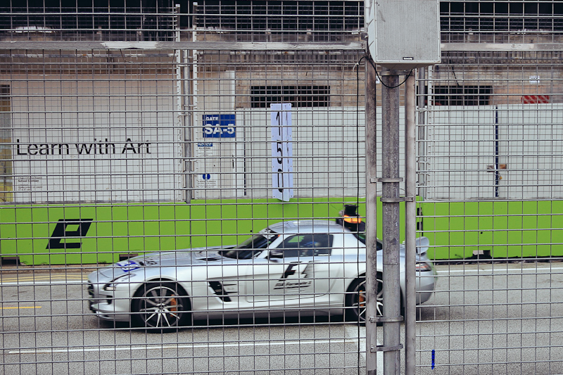 singapore f1 race safety car