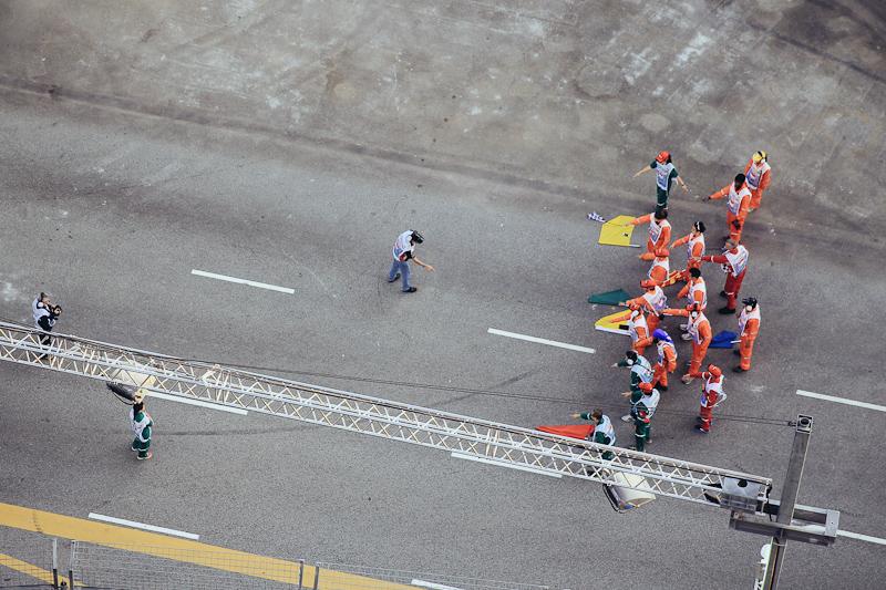 singapore f1 flags grand prix