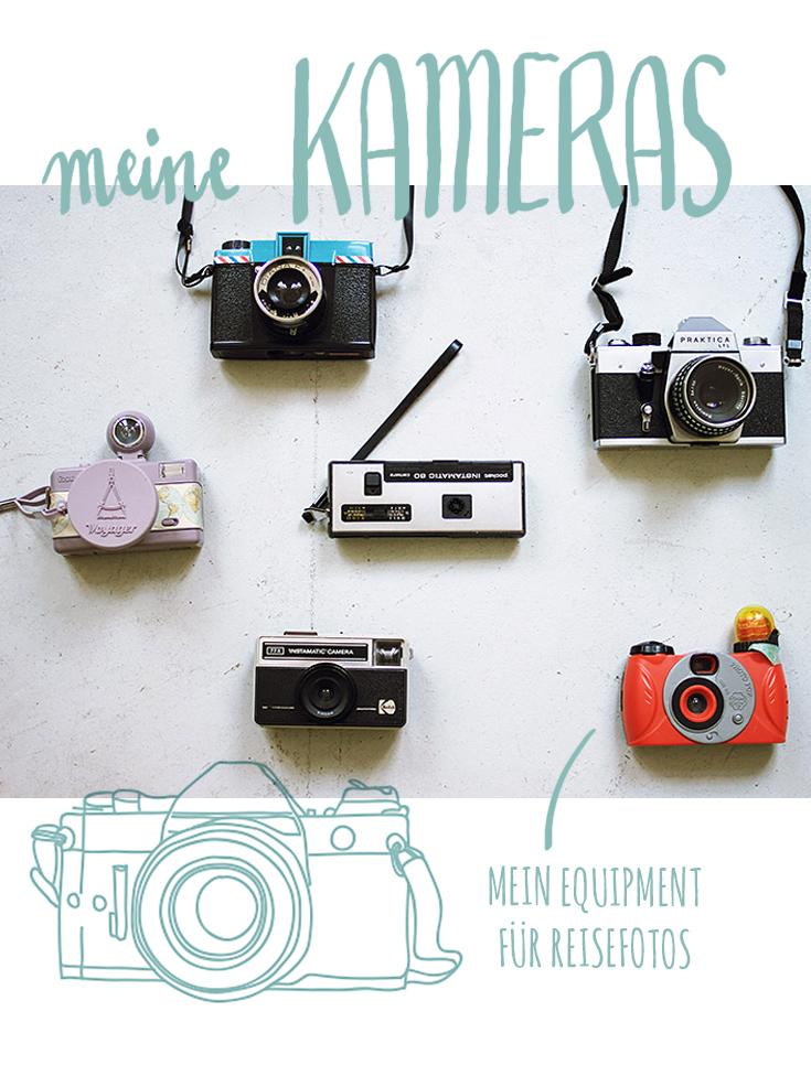 Von iPhone bis GoPro - Welche Kameras habe ich auf Reisen immer dabei? Welche Objektive sind die besten für Reisefotografie? Nehme ich meine Spiegelreflex überall mit hin?
