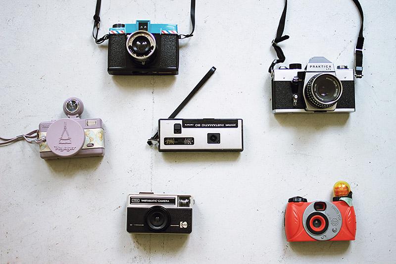 kamera sammlung