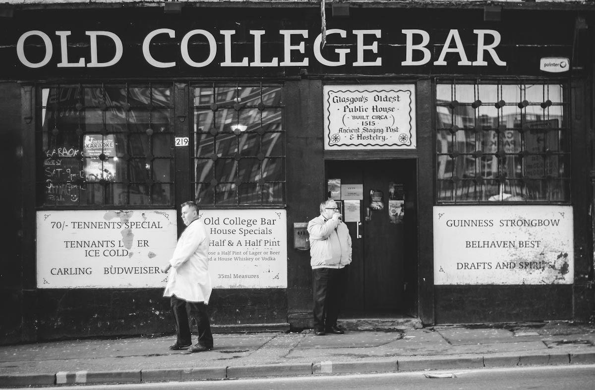 glasgow old college bar
