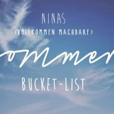 Sommer Bucket List