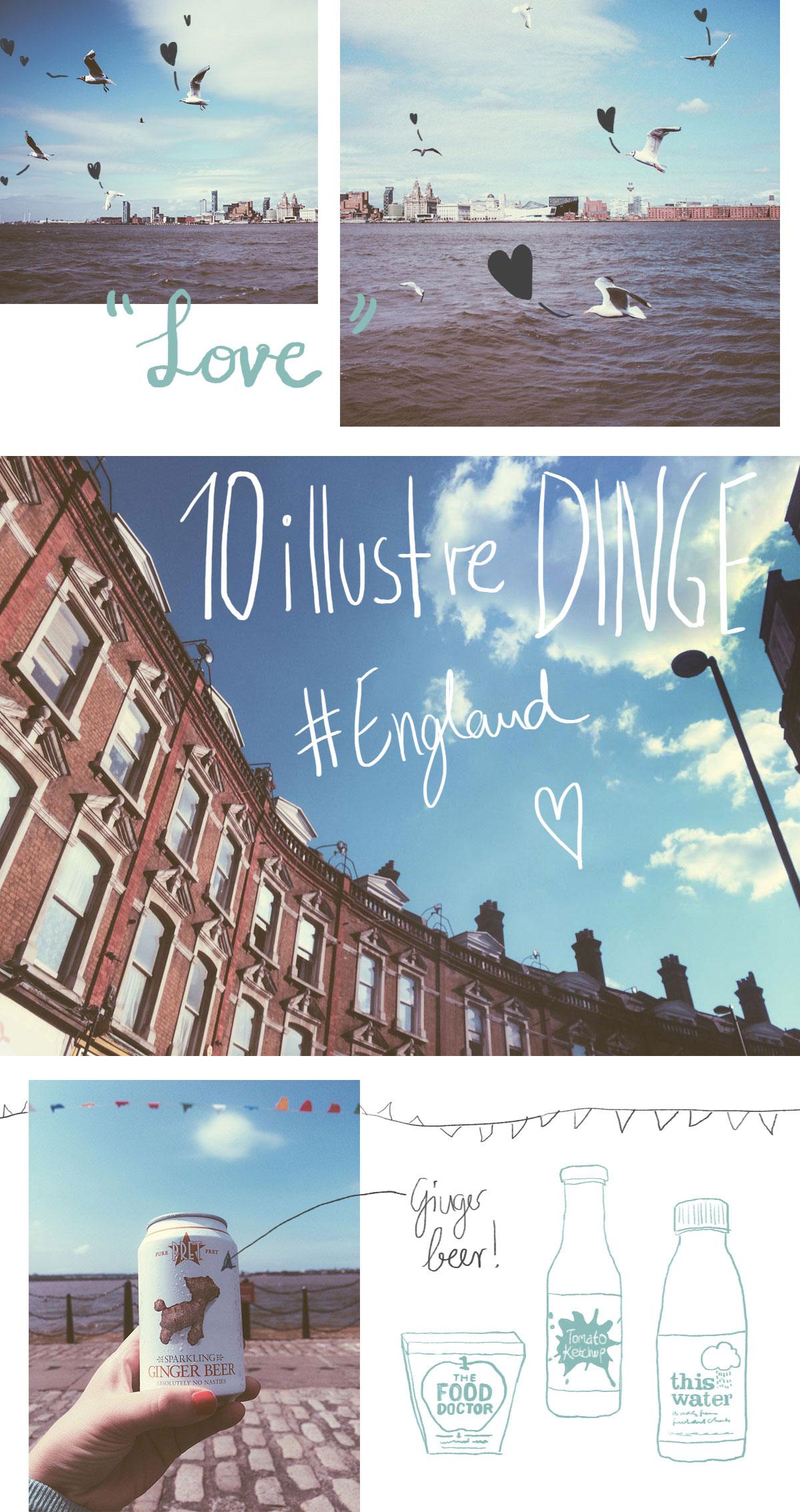 10 illustre Dinge, die ich an England mag