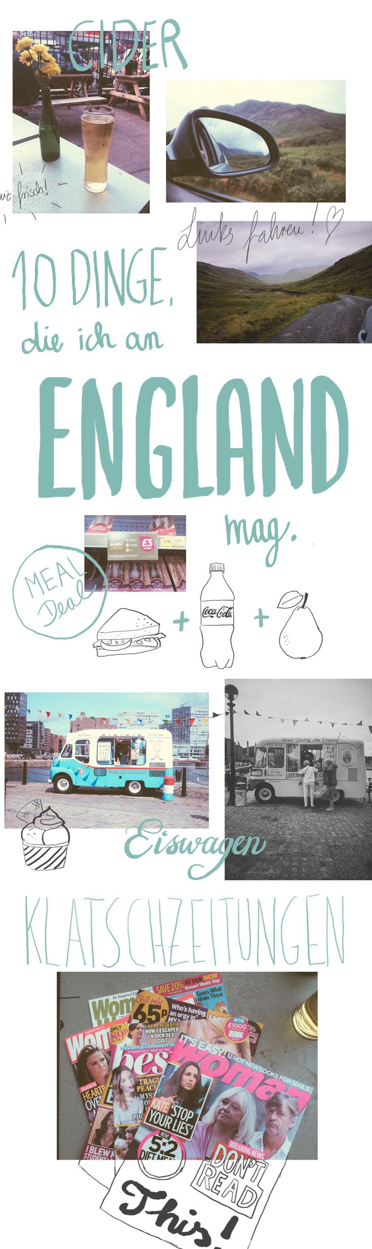 Klatschzeitungen, pittoreske Eiswagen, frisch gezapfter Cider und echte Geisterschlösser sind nur ein paar der Dinge, die einen Urlaub in England so einzigartig machen.