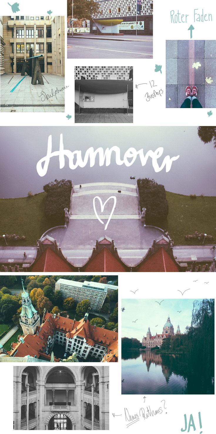 Es sind die kleinen Dinge, die Hannover so liebenswert machen und sich wie ein roter Faden durch die Stadt ziehen: Bushaltestellen, Überraschungsautomaten und ganze viele Küsse