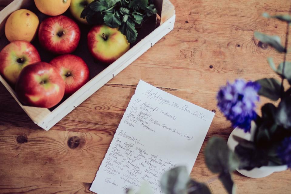 Apfel Rezepte Apfelsuppe