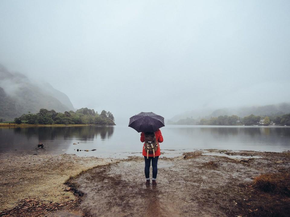 Schottland Glenfinnan Lake Smaracuja