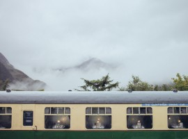 Schottland Glenfinnan Station Jacobite Steam Train Smaracuja