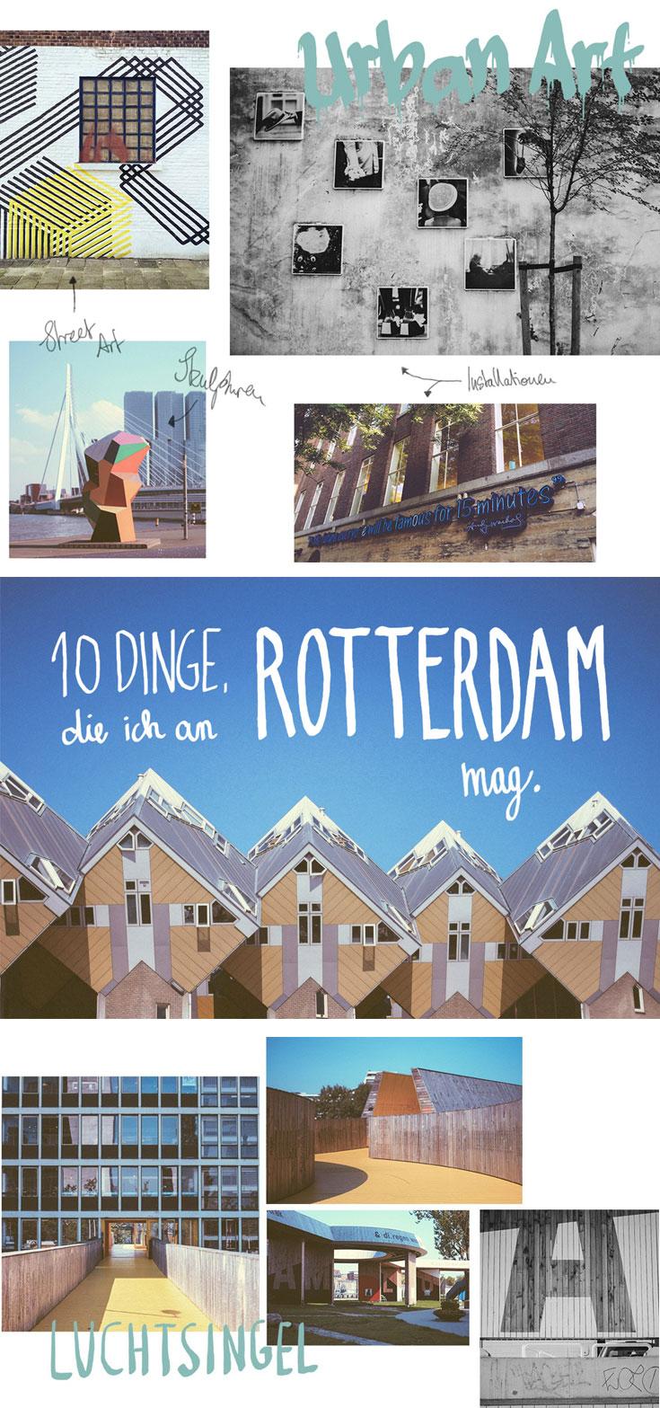 10 illustre Dinge, die ich an Rotterdam mag - Smaracuja