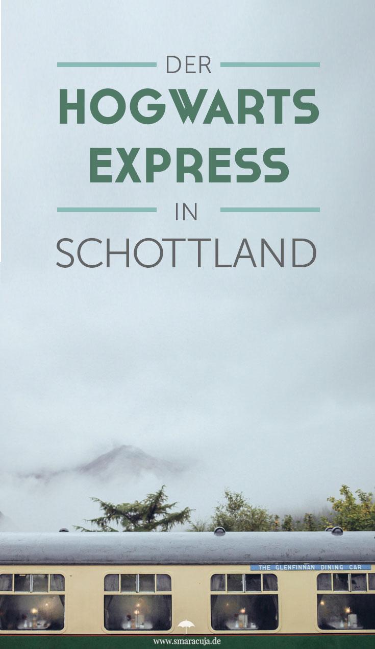 Der Jacobite Steam Train aka Hogwarts Express fährt täglich von Fort William nach Mallaig und passiert dabei das berühmte Glenfinnan Viaduct - Ein Reisebericht