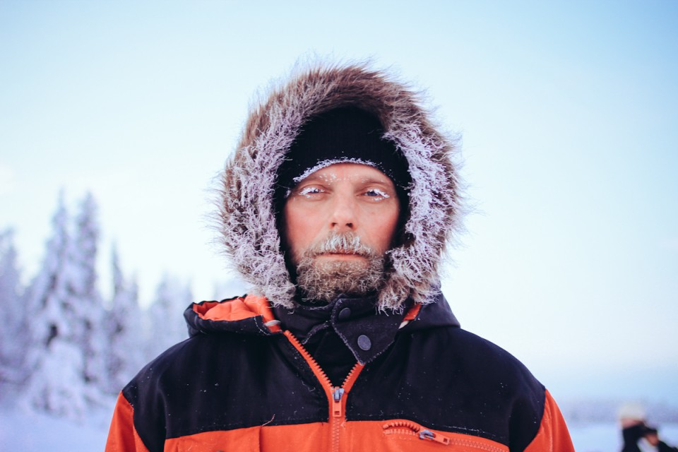 Lappland Eis Kälte Finnland