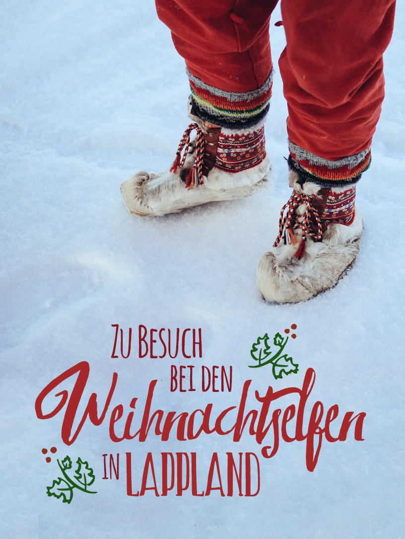 Irgendwo nördlich des Polarkreises, weit oben in Finnland, ist Weihnachten zu Hause