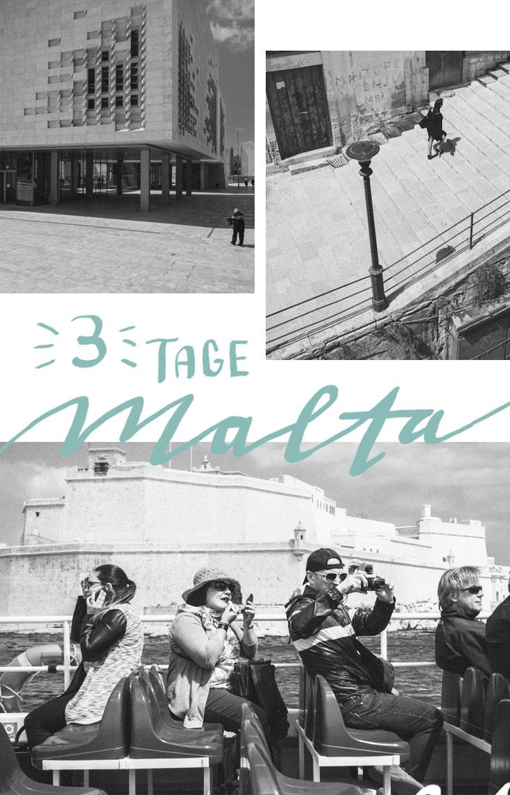 3 Tage Malta: Enge Gassen, bunte Türen und Erker, Treppen aus Game of Thrones und moderne Architektur - Valetta, Sliema und die Three Cities am ersten Tag