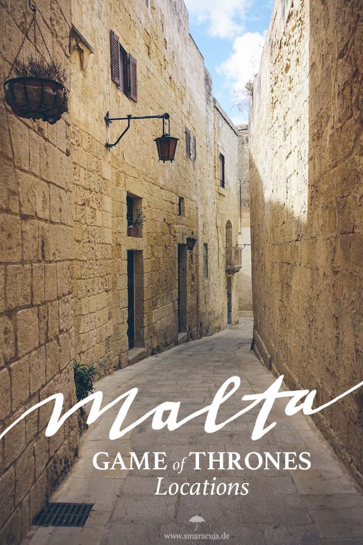 King's Landing, Littlefingers Brothel und andere Filmlocations der Serie Game of Thrones in Mdina auf Malta