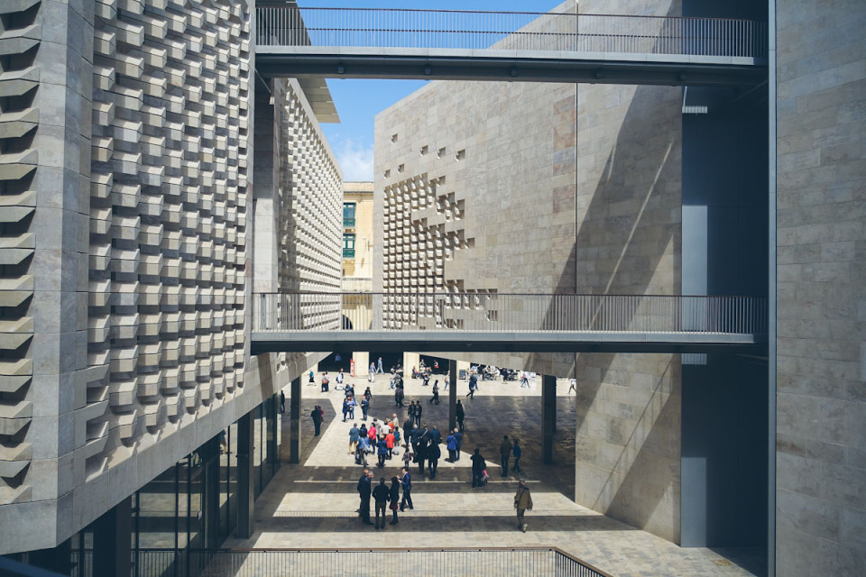 Malta Tipps Valletta Smaracuja Parlament