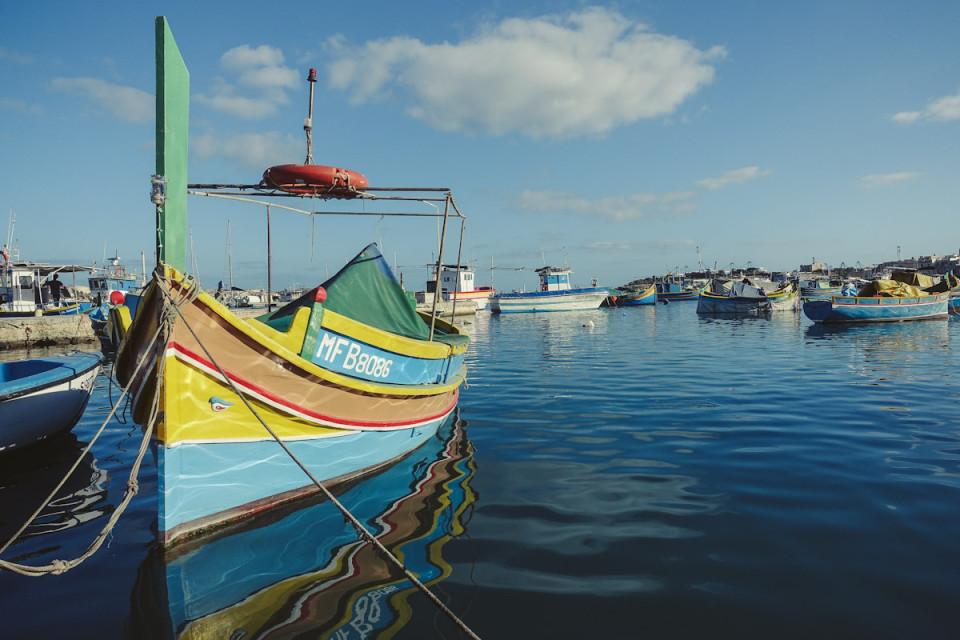 Smaracuja Malta Marsaxlokk