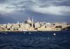 Malta Valetta Skyline