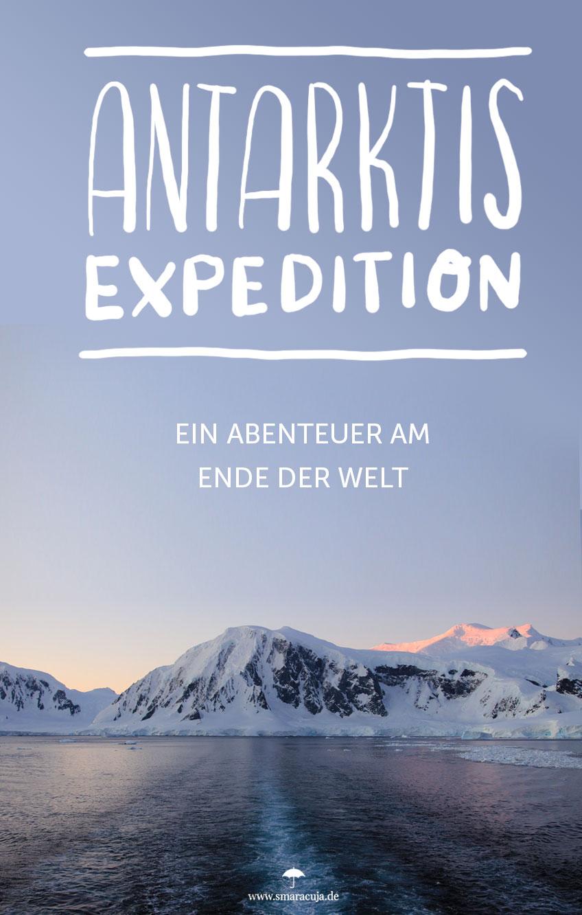 Eine unvergessliche Reise in die Antarktis, voller Abenteuer, Eisberge, Pinguine und jede Menge vergossener Tränen