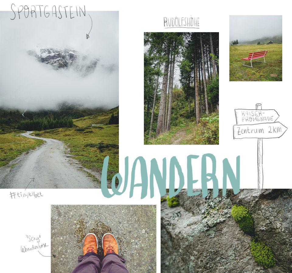 Wandern in Bad Gastein im Salzburger Land