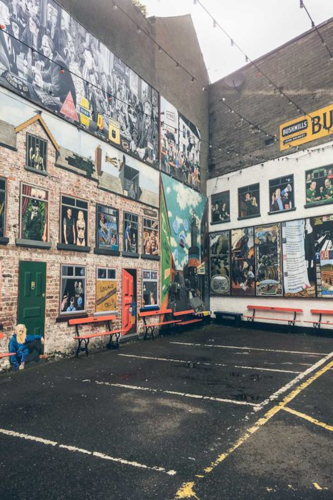 Belfast Tipps Duke of York Street Art Mural