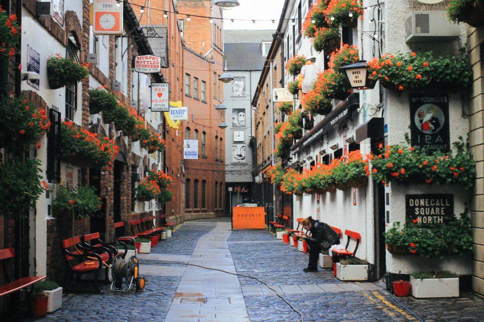 Belfast Tipps Duke of York Cathedral Quarter