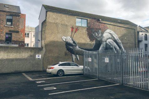 Belfast Tipps Street Art Cathedral Quarter