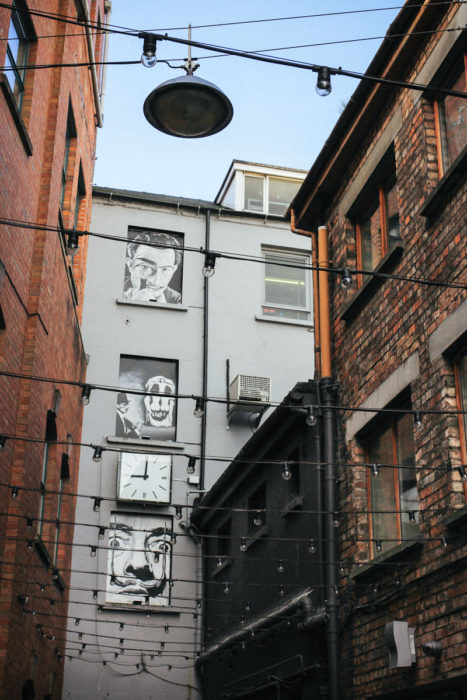 Belfast Tipps Duke of York Cathedral Quarter Street Art