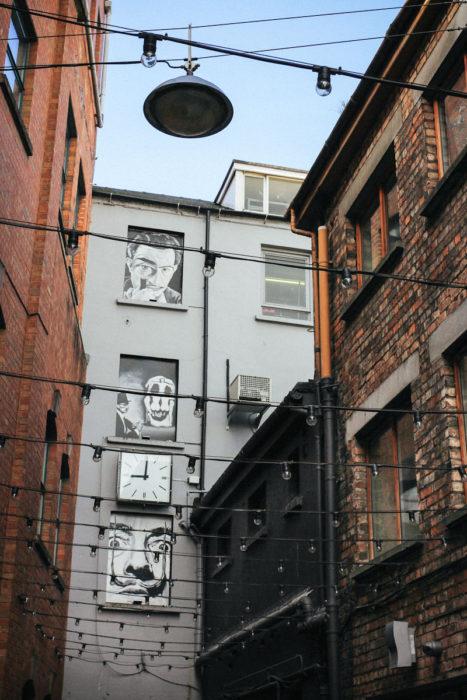 Belfast Tipps Duke of York Cathedral Quarter Street Art