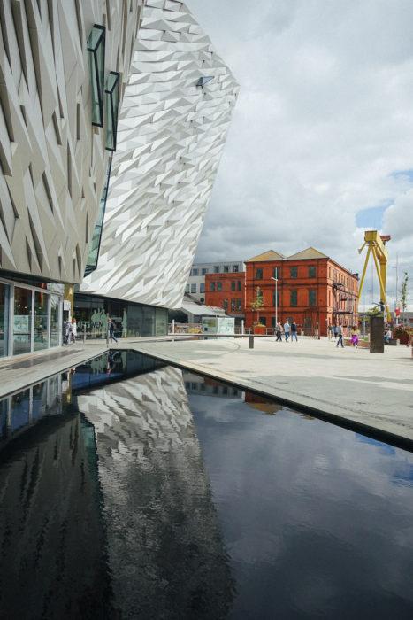 Smaracuja Belfast Städtereise Titanic Museum