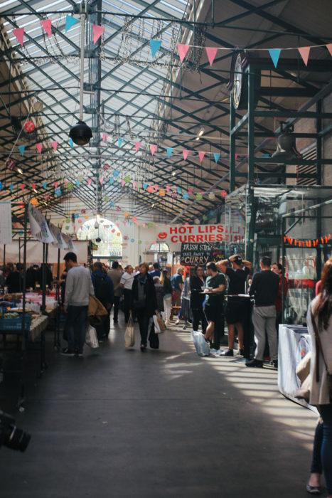 Belfast Tipps St Georges Market