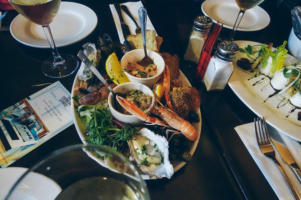 Belfast Food Tour Meeresfrüchte Austern