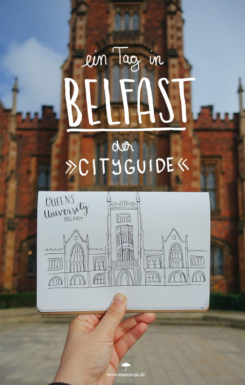 Ein Cityguide für Belfast: Kunst& Architektur, Märkte & Restaurants, Botanische Gärten und Street Art im Cathedral Quarter - man kann fast alles zu Fuß erreichen
