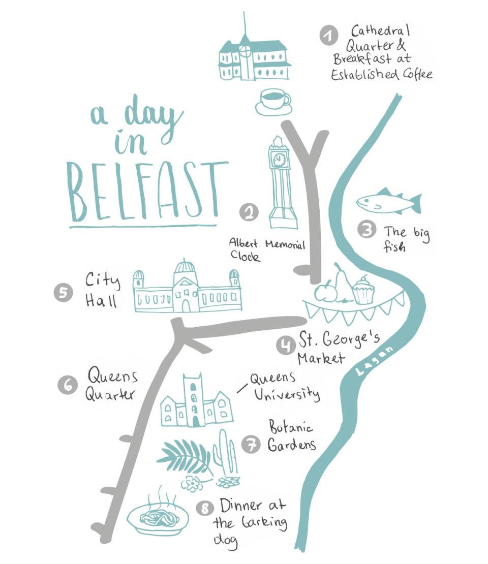 Zu Fuß durch Belfast die besten Tipps und Sehenswürdigkeiten
