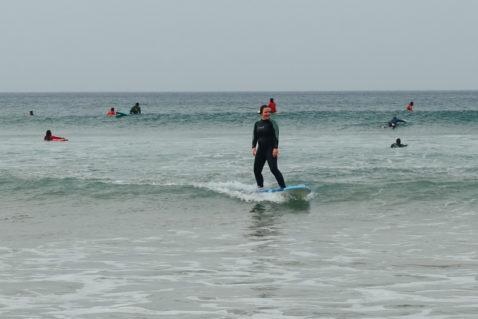 Algarve Surfen Strand Surfcamp Surfkurs