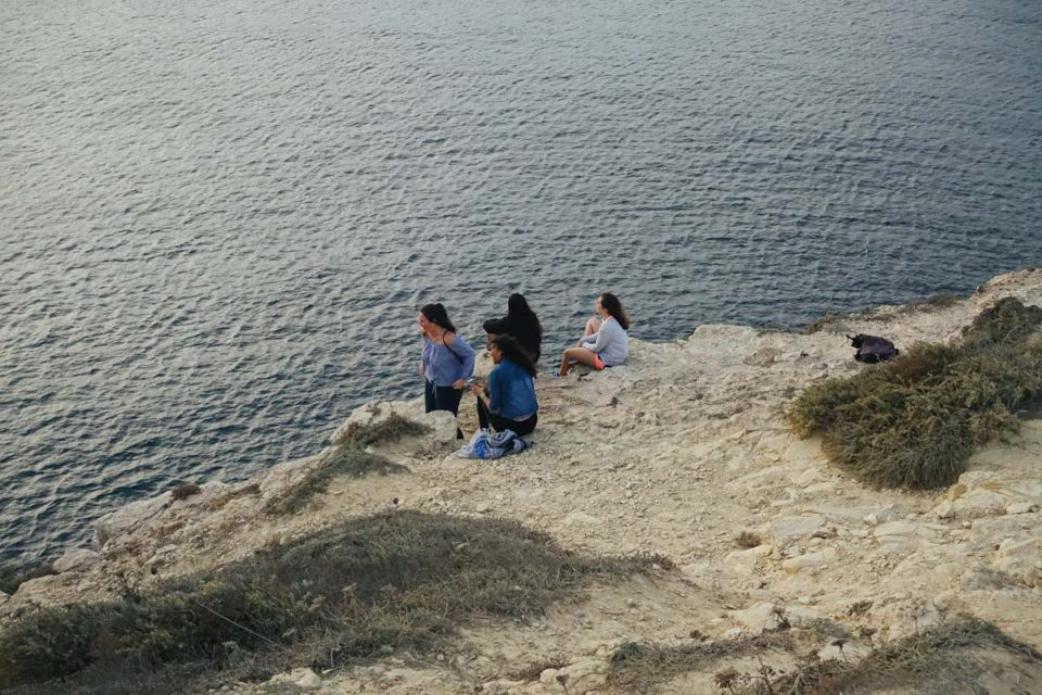 Algarve Portugal Punta de Sagres Ende der Welt