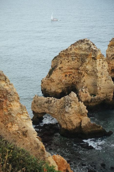 Algarve Portugal Lagos Ponta Da Piedade