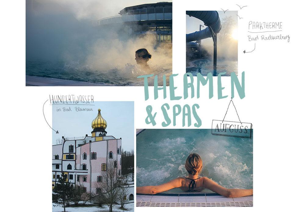 Winterzauber Thermen Spas Thermenland Steiermark Hundertwasser Bad Blumau