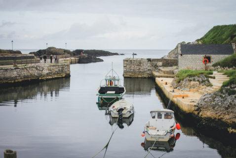 Ballintoy Harbour Nordirland Game of Thrones Drehorte Pyke