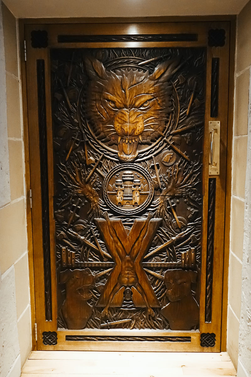 Türen Dark Hedges Game of Thrones Doors