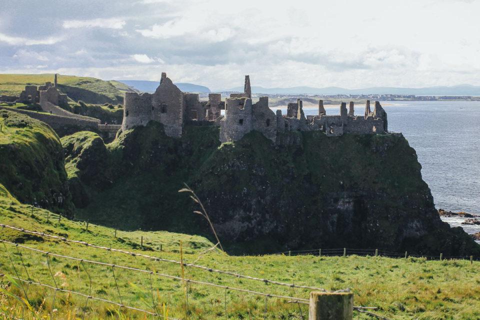 Dunluce Castle Nordirland Game of Thrones Drehorte Pyke