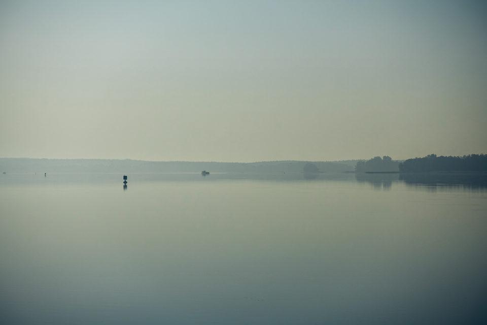 Morgens auf der Mecklenburgischen Seenplatte