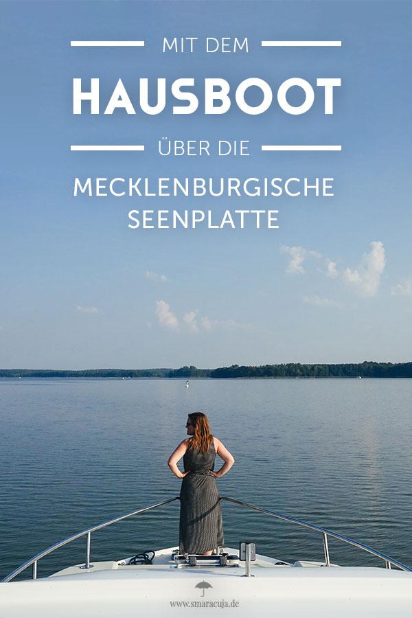 Mit dem Hausboot über die Mecklenburgische Seenplatte