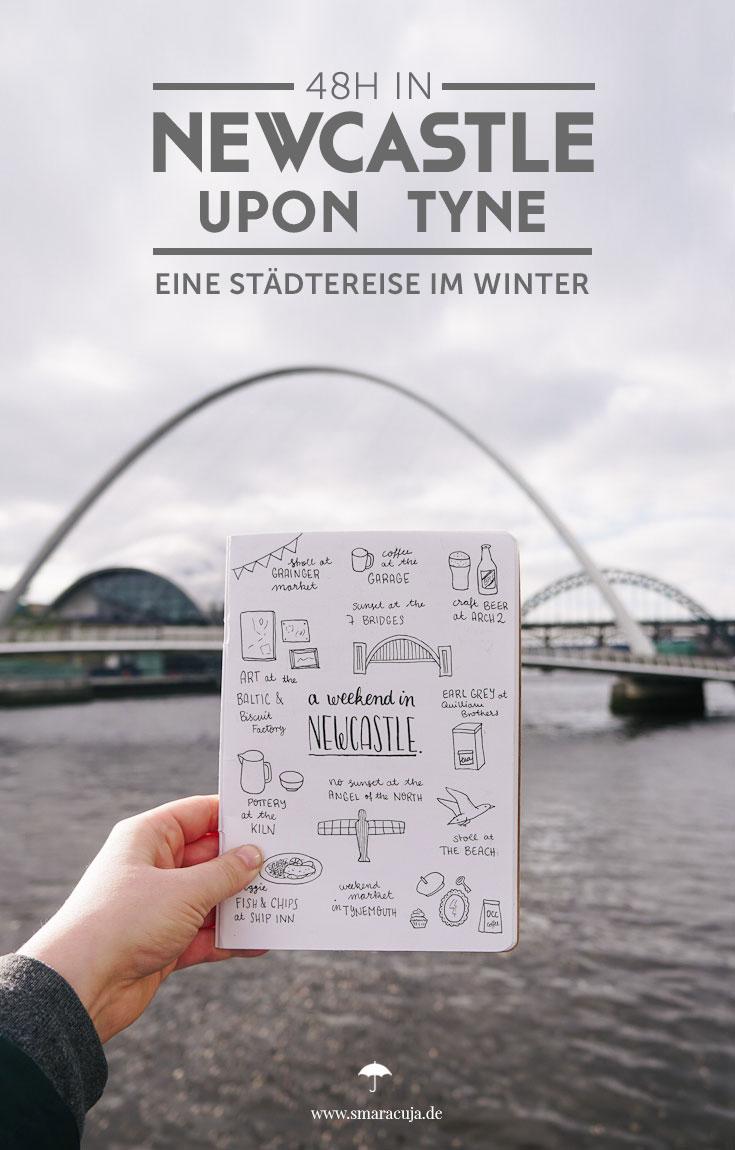 Newcastle Tipps für eine Städtereise im Winter: Ein Wochenende voll Kunst & Architektur, Street Art im Ouseburn Valley und den sieben Brücken über den Tyne