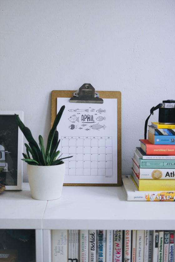 Kalender 2020 Freebie Download Printable