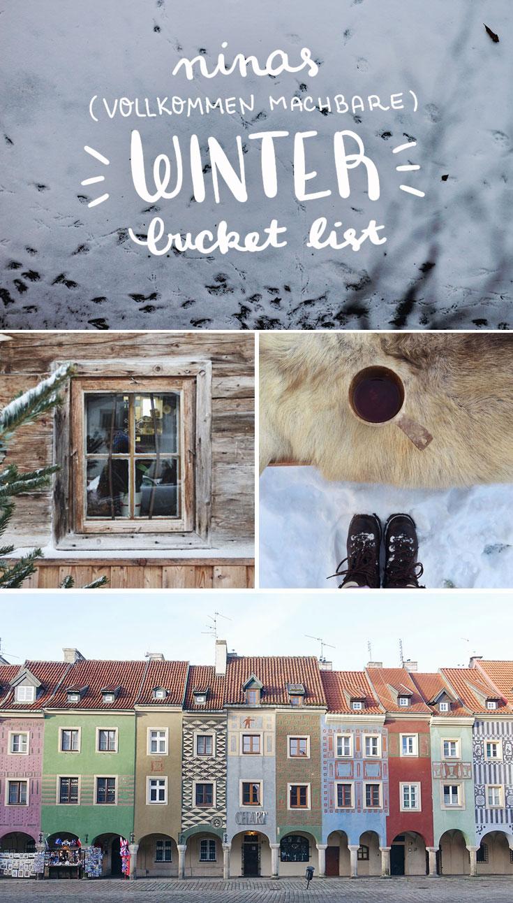 Schneeballschlacht, eine Halde besteigen, Schneeengel machen und Sauna - Ideen für den Winter in Deutschland
