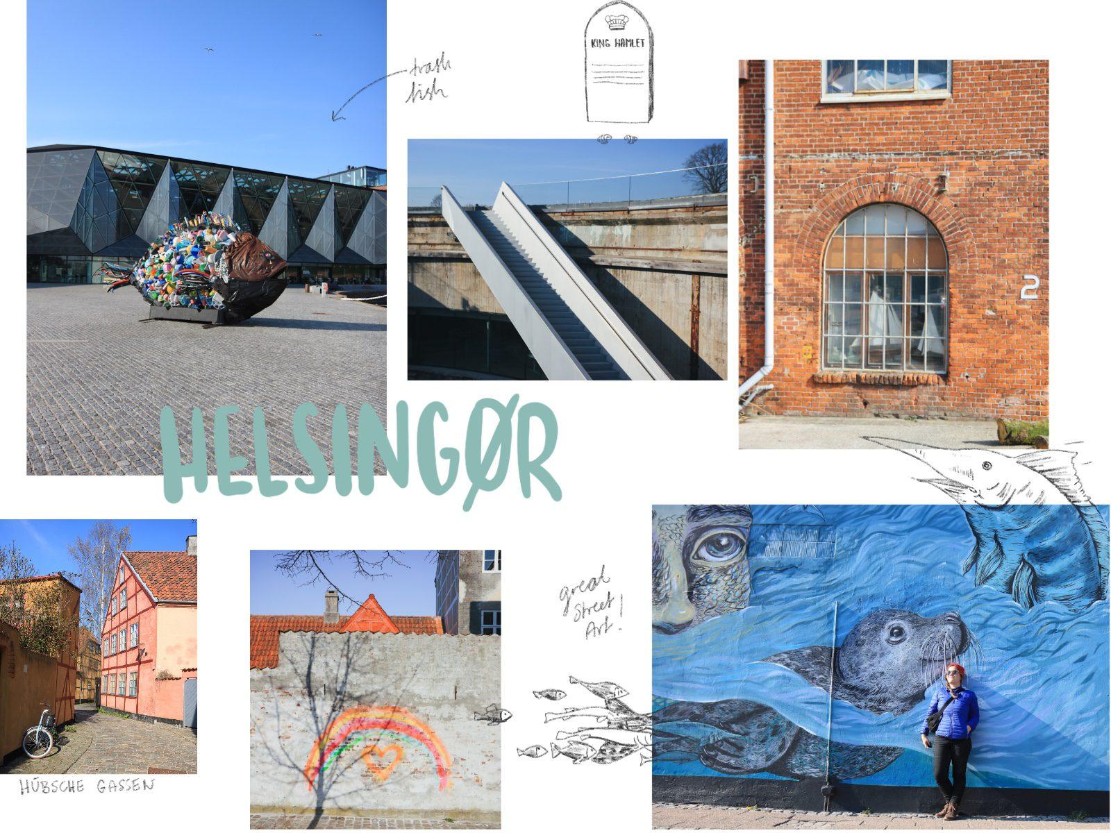 Dänemark Roadtrip Helsingor Hamlet Street Art