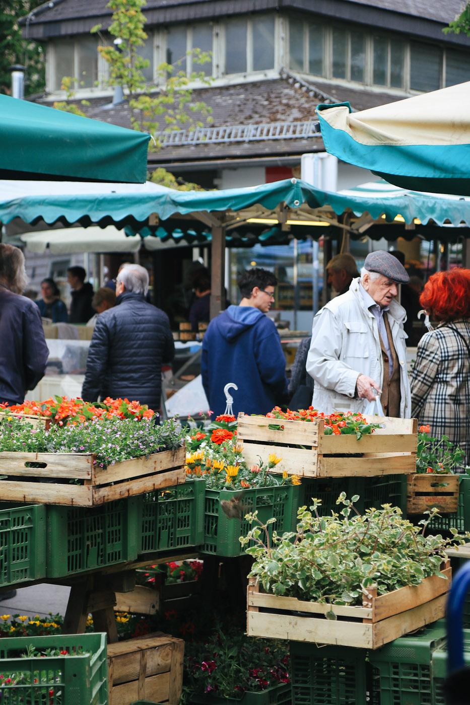Lenpplatz Markt Graz