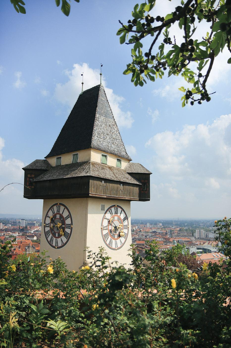 Schlossberg Graz Cityguie Städtereise